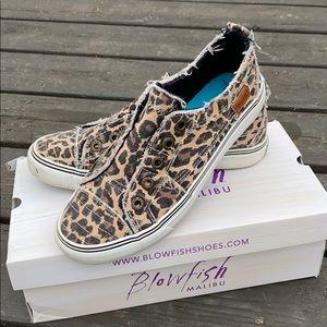 Blowfish cheetah sneakers